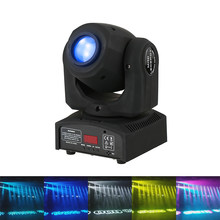 Fast Shipping LED 30W Spots Light DMX Stage Spot Moving 9/11 Channels 7 Colors Mini LED Moving Head Disco KTV Stage Pattern Lamp(China)