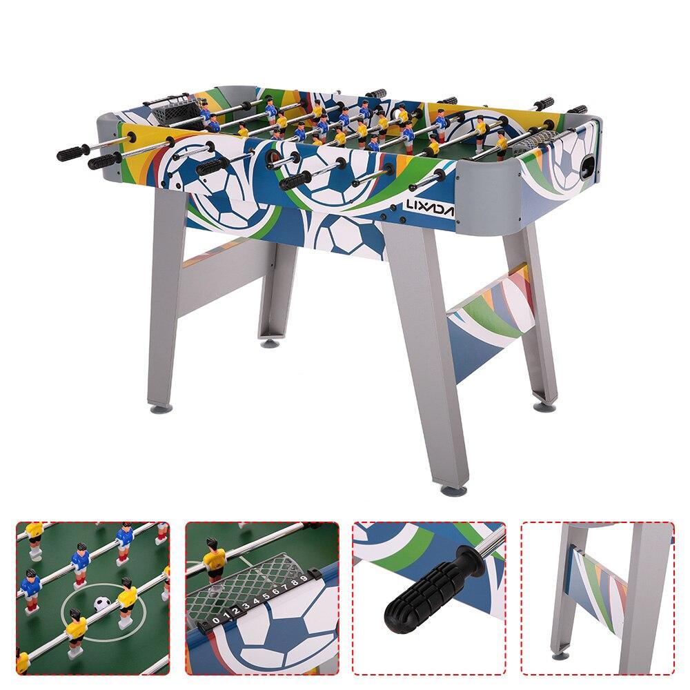 Lixada football table soccer game room table kicker for Table cuisine 75 x 75