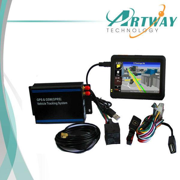 Câmera do carro do GPS Tracker com taxímetro e controle de sensor de combustível da frota de expedição de navegação do veículo sistema de rastreamento