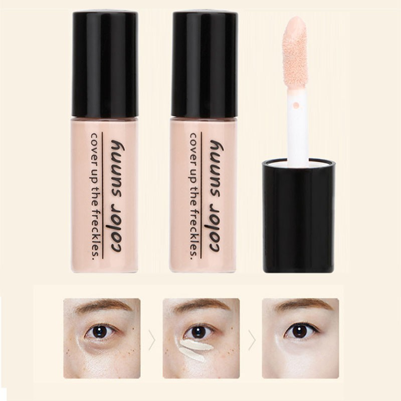 New Hide Blemish Silky Liquid Cream Concealer Lip Dark Eye Circle Cover Concealer Stick Long Lasting Moisture