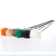 Lovely design 10pcs Pet for cat toys cute Floss Teaser Wand play track with cat Toy for Cats Products for cat