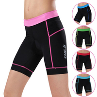 DICHSKI 2017 Women Cycling Equipment 3D Padded Short Pants Outdoor UV Protection Anti Sweat Quick Dry