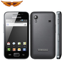 S5830i Asli Unlocked Samsung Ace S5830 GPS 5MP Kamera Bluetooth WIFI 3G Diperbaharui Ponsel Gratis Pengiriman(China)