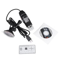 New Portable USB 8 LED 500X 2MP Digital Microscope Endoscope Magnifier Video Camera High Quality Brand