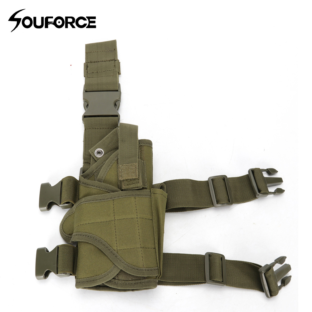 Holsters Hunting Kind-Hearted 10 Color Tactical Gun Sleeve Adjustable Size Universal Accessories Bag Universal Multi-functional Leg Bag For Hunting
