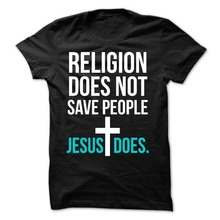 T Shirt Printing Online MenS Short Sleeve Machine Crew Neck Jesus Save People Shirts