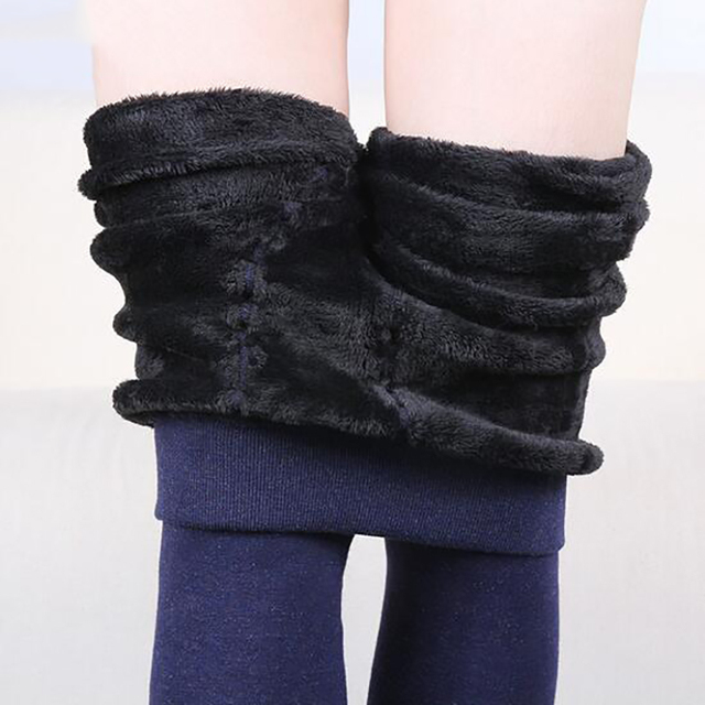 2016 Colorful Cotton Winter Warm Leggings Trousers Clothes for Women Plus Size Thicken Warm Pants leggins with Fleece Velvet