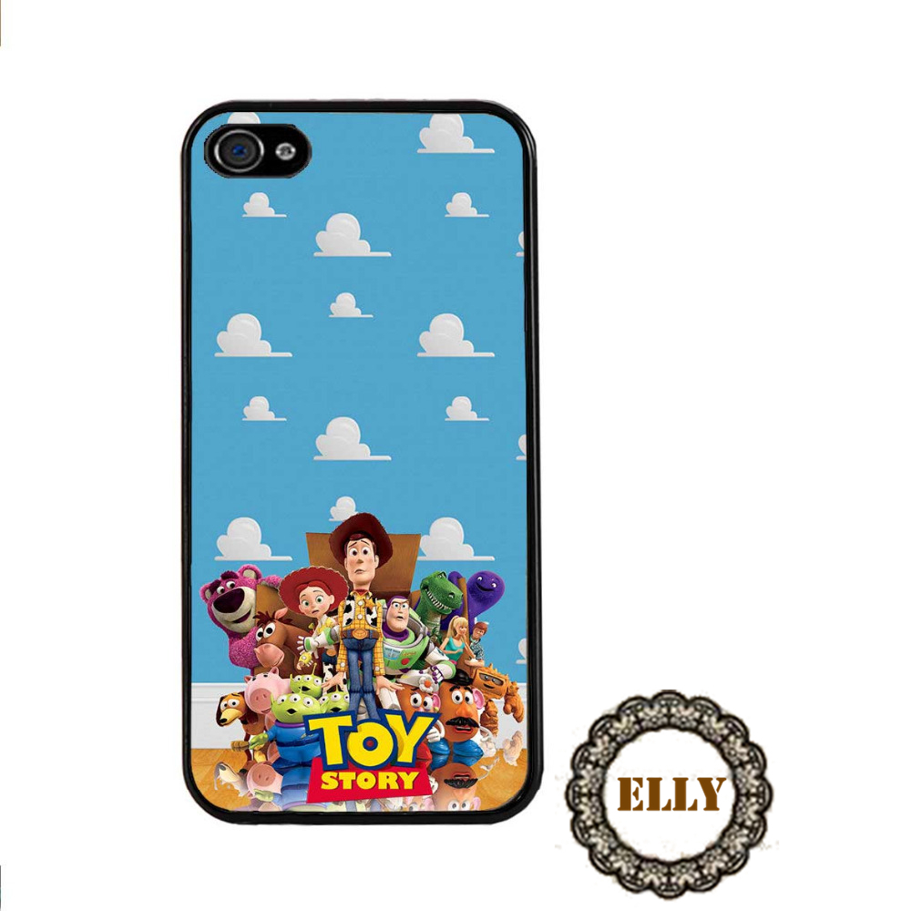 Wallpaper iphone toy story - Toy Story Wallpaper Woody Buzz Lightyear Fashion Mobile Phone Case Cover For 4 4s 5 5s