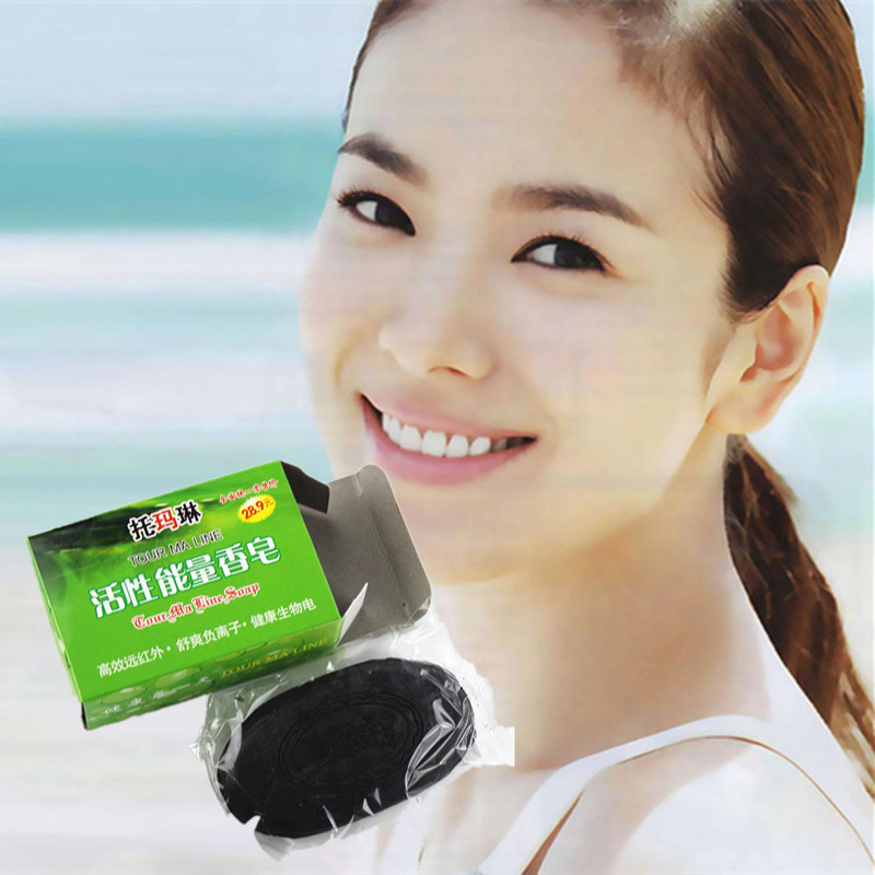 Soaps For Whitening Oil-control Remove Acne Blackhead Handmade Essential Oil Soap 60g Face Skin Care Deep Cleanand Shrink Pores