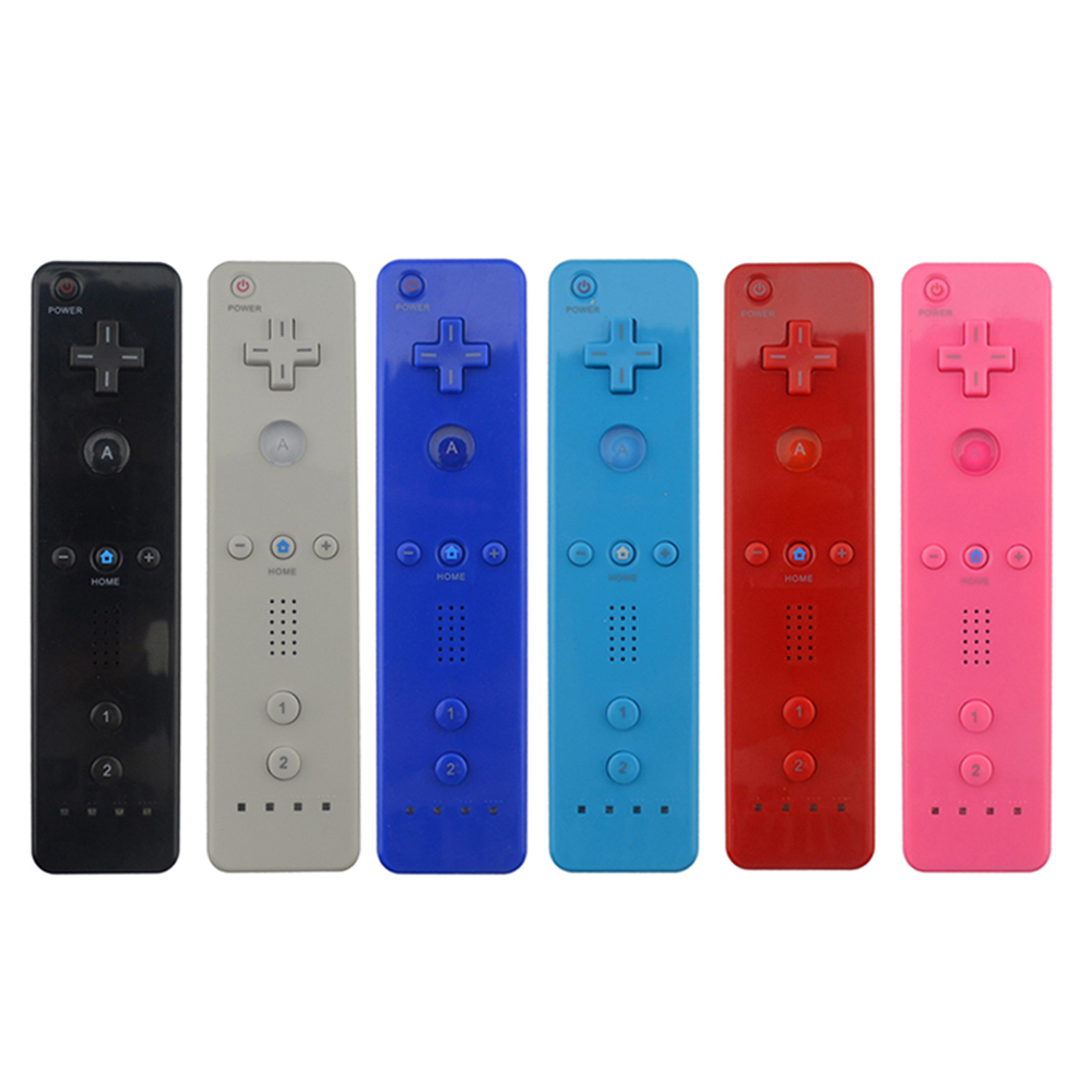 5 Cores 1 pcs Sem Fio Gamepad para Wii Controlador Remoto Para Wii Nintend Jogo Controlador Joystick sem Motion Plus Remoto