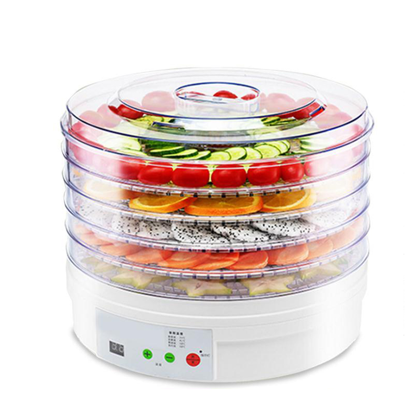 Digital Food Dehydrator Fruit Vegetable Herb Meat Drying Machine Snacks food Dryer Dried fruit Machine 5 trays EUUK Plug 220V (3)