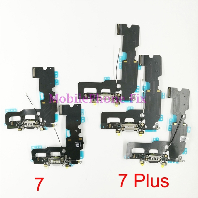 uk availability e9165 a84e1 US $272.6 |50 PCS USB Charging Port Flex Cable For iPhone 7 7Plus 7+ USB  Charger Dock Connector Flex Cable For iPhone7 iPhone7 Plus-in Mobile Phone  ...