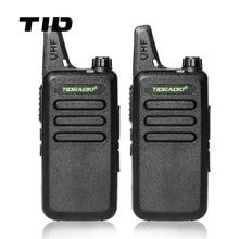 Mini Walkie Talkie TID Radio TD-M8 Two Way Radio UHF 400-470MHz Communicator CB Ham Radios HF Transceiver