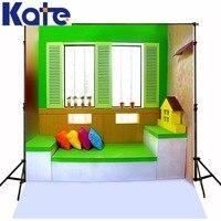 300 Cm * 200 Cm (Circa 10Ft * Piedi) Sfondi Bordi Colorati Cuscini Casa Photography Fondali Foto Lk 1391