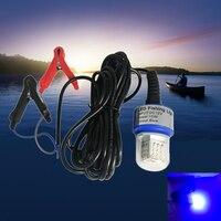 15V 36pcs 2835 bead deep water fishing light Lures fish Finder bait blue lamp Attract Prawns Squid Krill Underwater Night Light