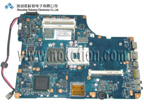 NOKOTION LA-4981P K000078990 Original laptop motherboard For TOSHIBA L500 L550 GM45 DDR2 With graphics slot Mainboard sps v000126450 for toshiba satellite a300 a305 laptop motherboard gm45 ddr2 with graphics slot mainboard