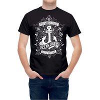 تي شيرت sailinger بحار بحري البحرية مرساة خطأ مطبعي تي جديد أزياء الرجال قصيرة الأكمام القطن الرجال القمصان الكلاسيكية