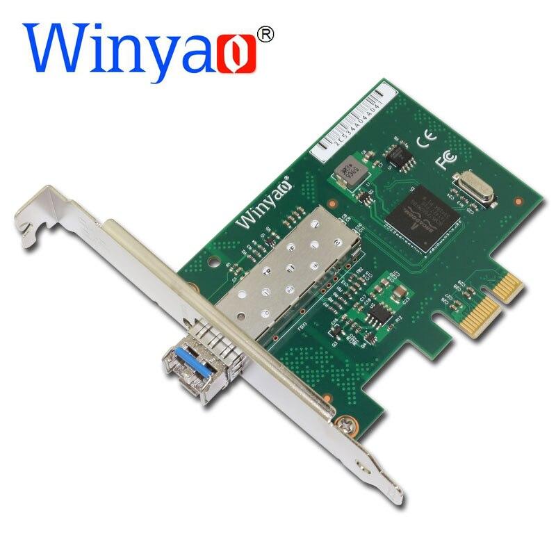 Winyao WY5720DF LX pci express X1 1000 Mbps LC 1310nm Gigabit Ethernet carte réseau de bureau en Fiber optique pour carte réseau BCM5720 SFP PCI E-in Cartes réseau from Ordinateur et bureautique on AliExpress - 11.11_Double 11_Singles' Day 1