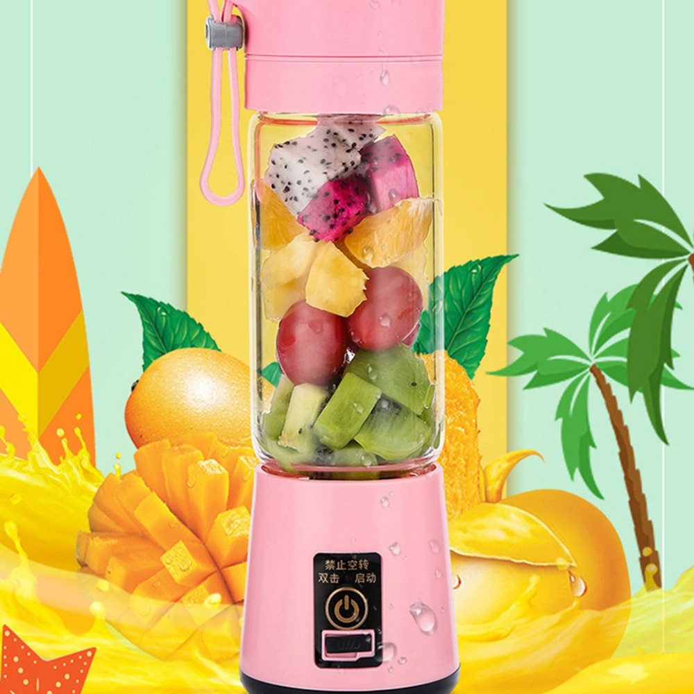 HTB1.9nrOhTpK1RjSZFMq6zG VXaX 380ml Portable Mini Electric Fruit Juicer Handheld Smoothie Maker Blender Stirring USB Rechargeable Juice Cup Water