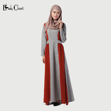 New Abaya Muslim Dress Turkish women clothing Islamic clothes Turkey Jilbabs and Abayas Robe Musulmane Pullover Dresses Vestidos
