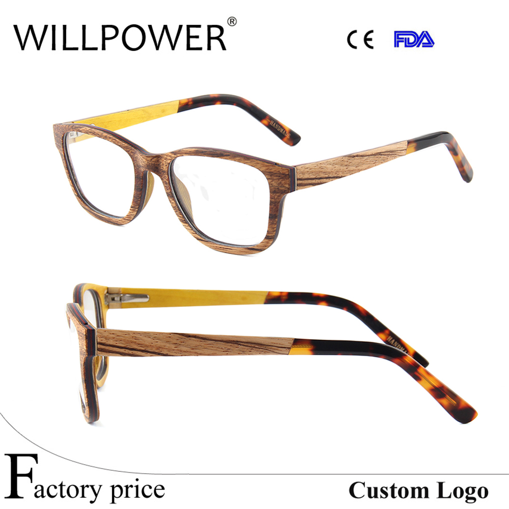 2017 Wholesale New Italy Designer Vintage Prescription Optical Eyeglasses Frame For Mens And Womens
