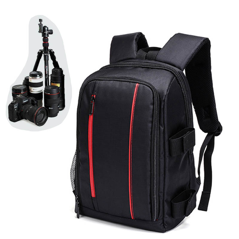 Top Quality Waterproof Backpack Camera Bag Case For Canon EOS 1100D 760D 750D 700D 600D 1300D