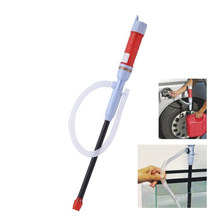 Aquarium Electric Battery Siphon Pump Syphon Diesel Fuel Water Siphon Pump Hose Aquarium Accessories(China)