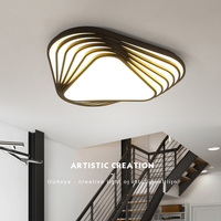 Black Or White Finish Living Room Bedroom Study Room Chandelier Modern Led Creative Chandeliers Free Shipping