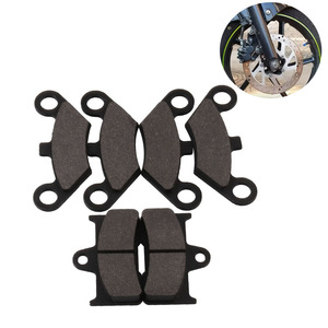 Image 2 - 6 деталей мотоцикла тормозные колодки универсальные ATV передние и задние дисковые тормоза мотоциклетные тормозные колодки аксессуары для мотоциклов