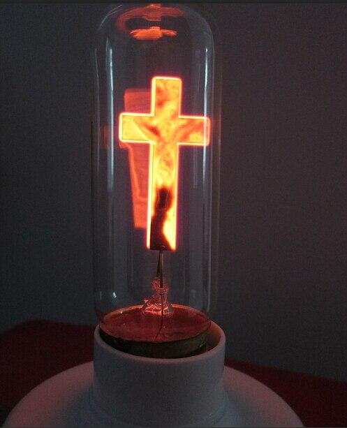 UPS DHL FEDEX 50 pcs gratuit 3 W croix rouge flamme ampoule 30*105mm AC220-240v