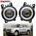 2 шт., Автомобильные светодиодные лампы Angel Eye для Mitsubishi L200 Triton OUTLANDER 2 PAJERO 4 GALANT Grandis