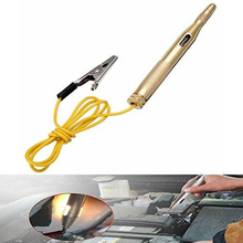 Практичный тест электрическая ручка карандаш тестер инструмент для ремонта электрика электроскоп медная электрическая ручка Золотая медь