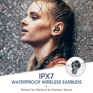 Image 4 - Mpow T5/M5 M Free Bluetooth 5.0 TWS Earphone Aptx IPX7 Waterproof Sport Earphones With Noise Canceling Mic For iOS Android Phone