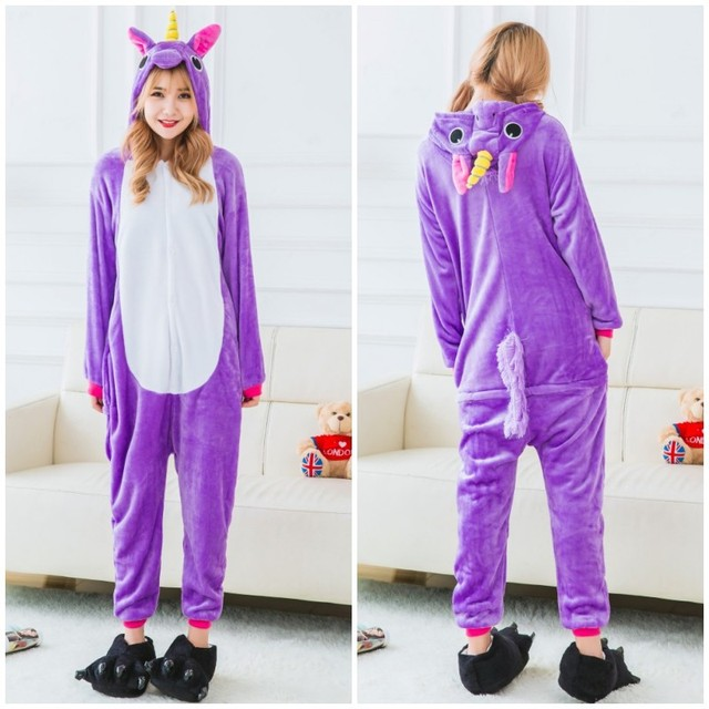 65a8d29fd Purple Pegasus Adult Unicorn Pajamas Unicorn Onesies Animal Pajamas ...