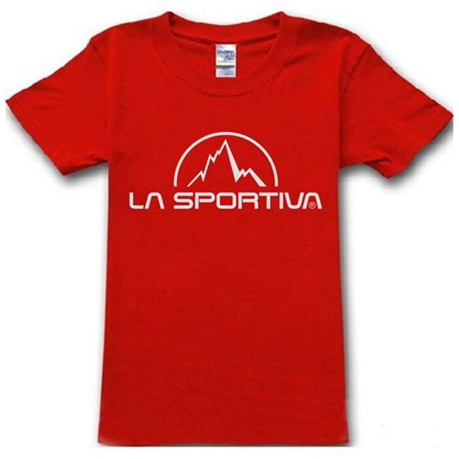 2015 Sport La Brand Sportiva Famous Summer T Cotton Outdoor Shirt hsQrCtdx