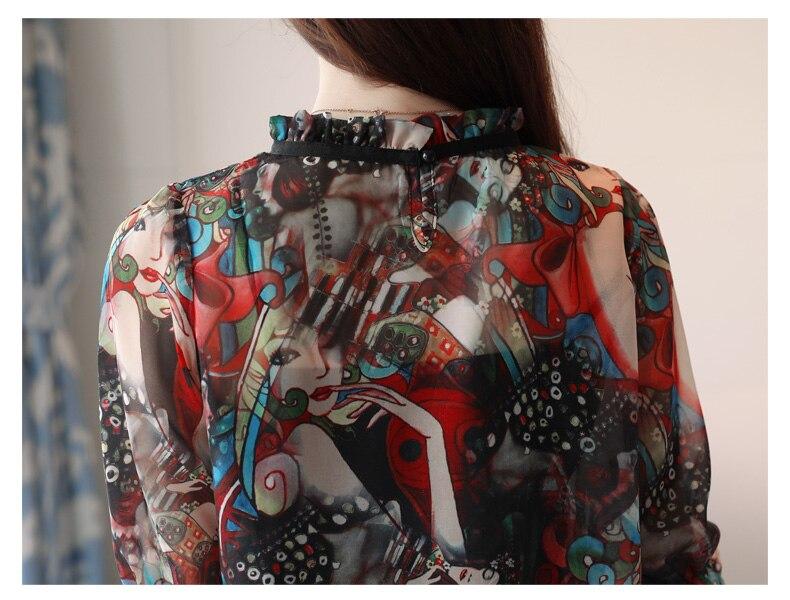 womens chiffon blouse