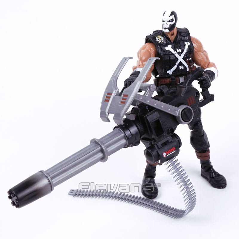ФОТО Marvel Brock Rumlow Crossbones with Weapon PVC Action Figure Collectible Model Toy 19cm