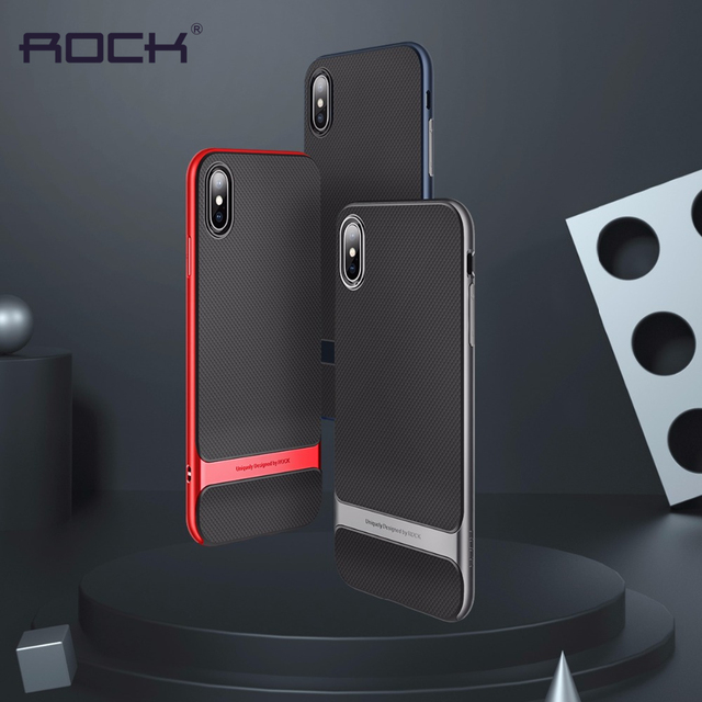 the best attitude 31d65 7f871 US $9.69 |Aliexpress.com : Buy For iPhone XS XS Max Case Cover Luxury PC  Bumper Soft TPU Silicone Hybrid Armor Case For iPhone XS Cover Protective  ...