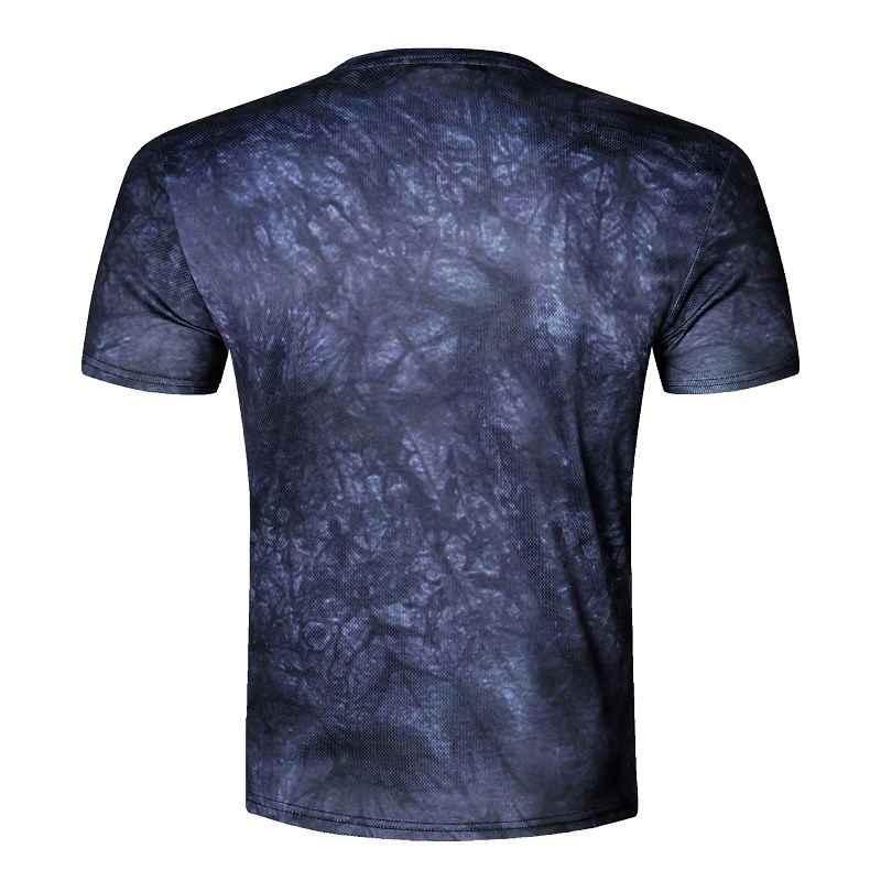 BIANYILONG новый дизайн череп/джокер принт Мужская футболка модная 3D Футболка короткий рукав Повседневная дышащая футболка плюс размер M-4XL