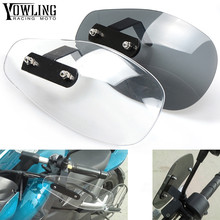 цена Motorcycle Accessories wind shield Brake clutch lever handle hand guard For Kawasaki Ninja 1000 1000R 250 250R 300 300R 400R 650