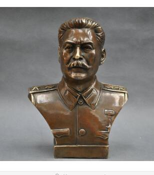 collecting OLD copper decoration brass 6 Elaborate Russian Leader Joseph Stalin Bust BRASS Statue sculpture christmascollecting OLD copper decoration brass 6 Elaborate Russian Leader Joseph Stalin Bust BRASS Statue sculpture christmas
