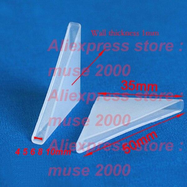 BTMB Plastic Frame Corner Protectors Glass Metal Plate Black Corner Covers 12mm//0.47 Thickness,Pack of 60