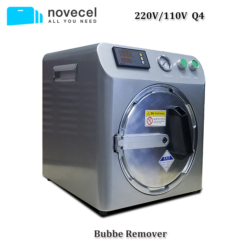 NOVECEL Q4 Professional LCD Bubble Remover Screen Debubbler Machine For IPhone Samsung HUAWEI Etc. Screen Repair LCD Autoclave