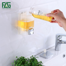 Cheapest 700ML Soap Dispenser Wall Mounted Shampoo Shower Helper For Bathroom Hospital Hotel Supply