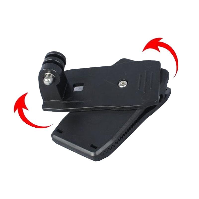 360 degree rotate clip For SJCAM Camera