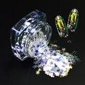 3g Brilho 3mm Pentagrama Forma Azul Brilho Prego Brilho Lantejoulas Da Arte Do Prego Brilho Dicas Manicure Nail Art Decoração SZ03