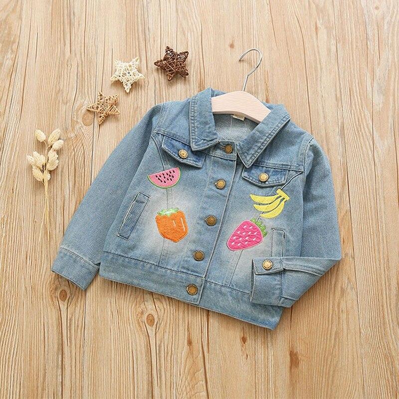 Toddler Girls children Clothing Fashion short Denim Jackets outerwear for teenage girls kids clothes cowboy baby coats cloth