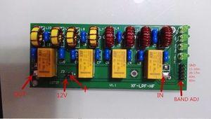 Image 2 - 1 ピース 12 ボルト 100 ワット 3.5 mhz 30 mhz hf パワーアンプ低域通過フィルタキット