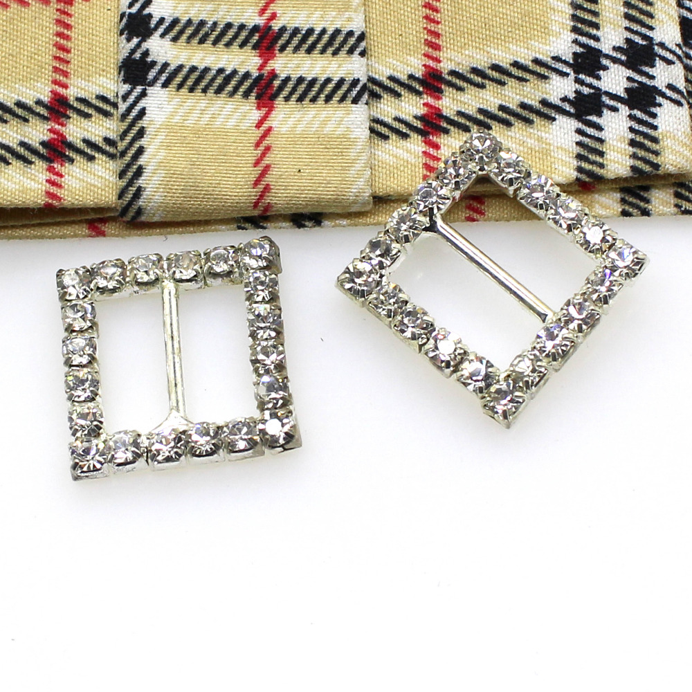 Buy rhinestone square buckle sliders and get free shipping on AliExpress.com f7a1032afa54