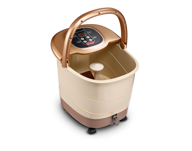 Fully automatic foot massage machine foot bath Detox Ion Cleanser Foot Spa Electric massager health care DHL shipping